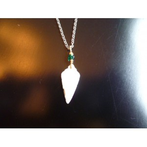 Ivory Arrowhead Necklace- NOT UP