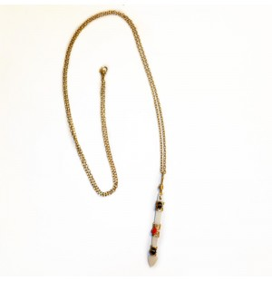 Ivory Spear Necklace