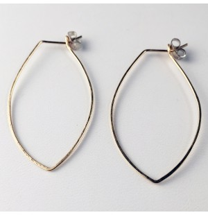 Marquee Hoop Earrings