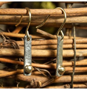 Pebble Earrings- Bar