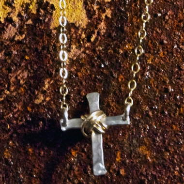 Petite Cross Necklace