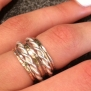 Mixed Metal Stack Ring Set