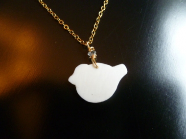 Ivory Dove Necklace