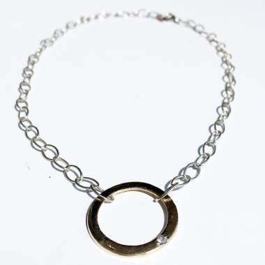 Wedding Band Necklace