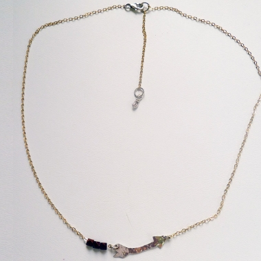 Crooked Arrow Necklace